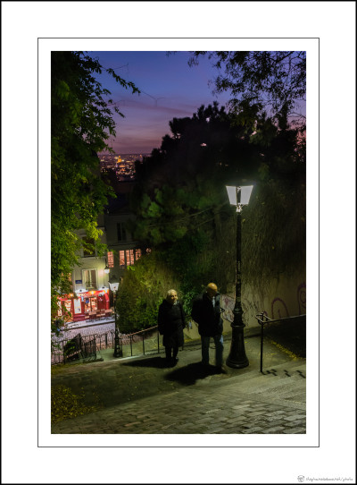 The Montmartre ascent