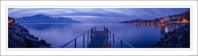 Montreux's pier